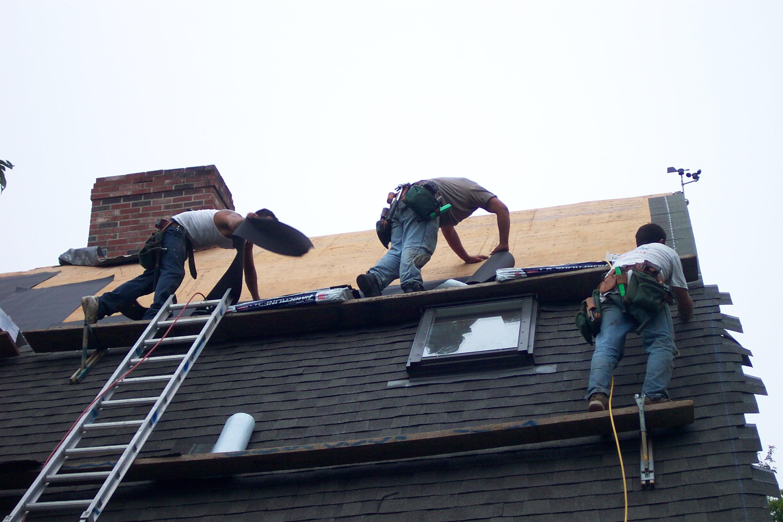 Roofing-In-Progress