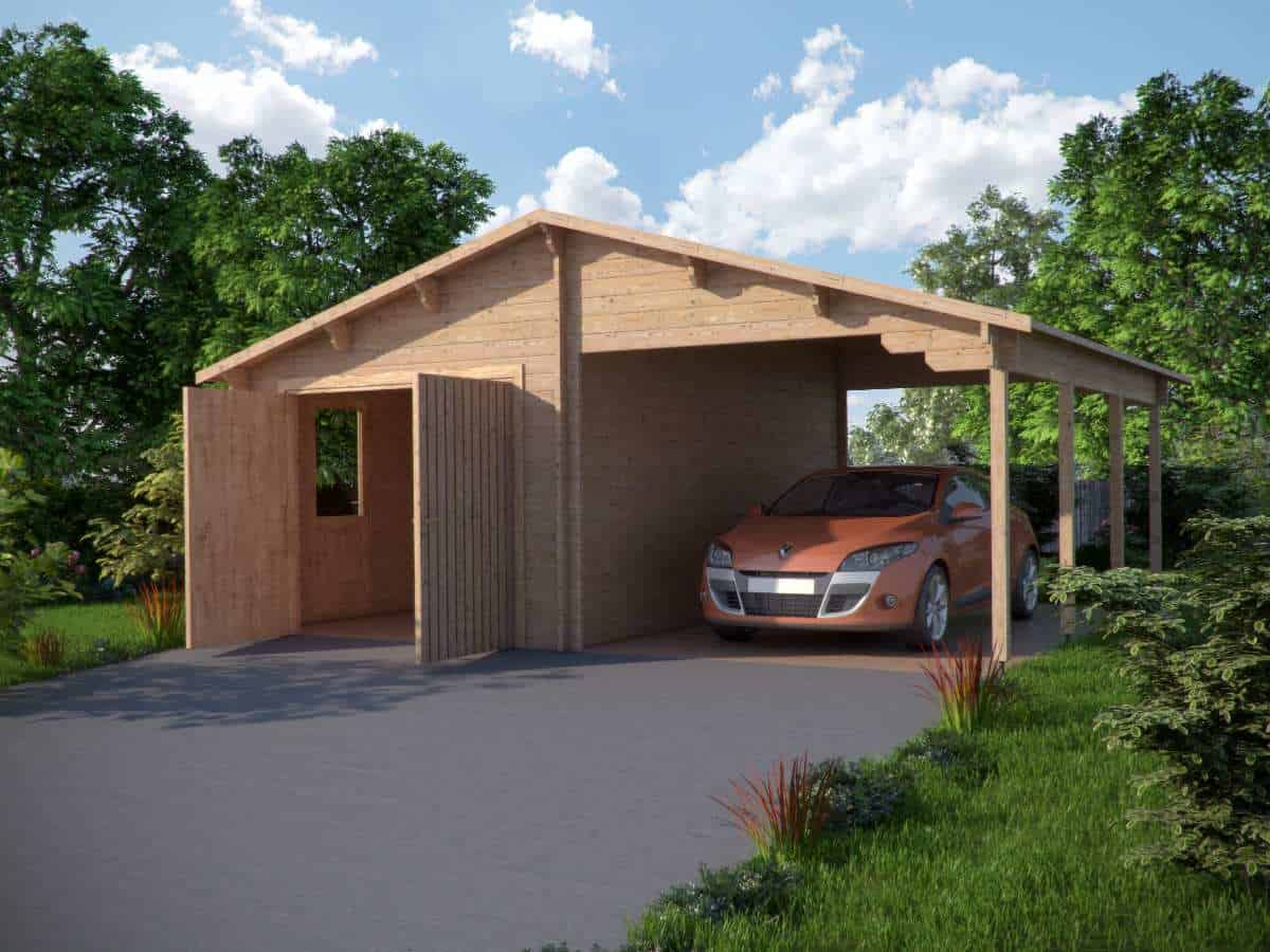 lean to carport kit