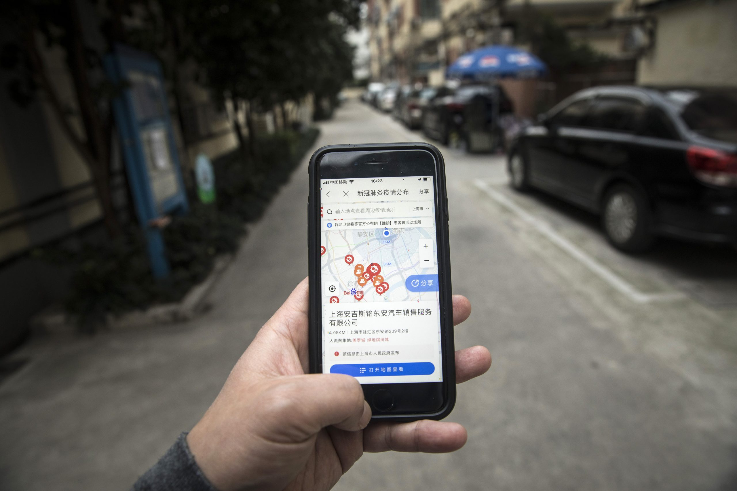 China Uses Surveillance State Tactics to Fight Spread of Virus