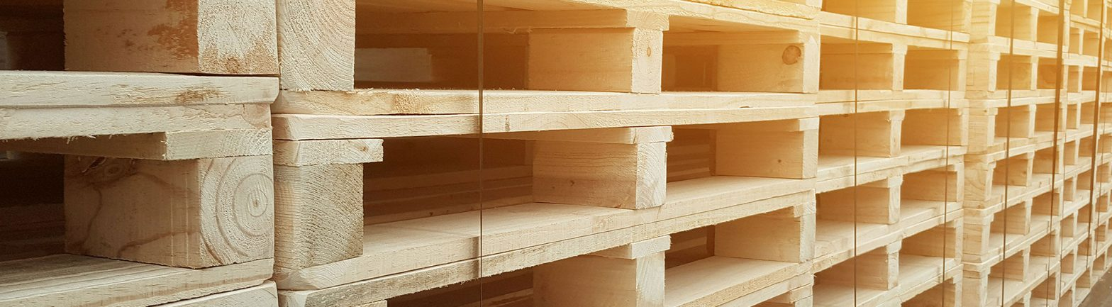 wooden pallets size